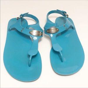 MICHAEL Michael Kors PVC Jelly Sandals Sz 7
